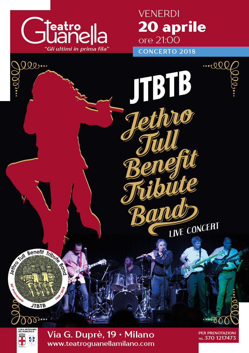 Jethro Tull Benefit Tribute Band
