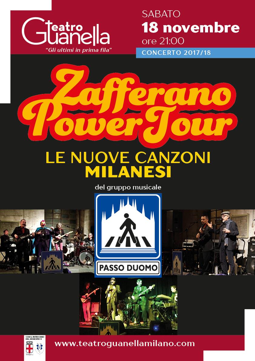 ZAFFERANO POWER TOUR