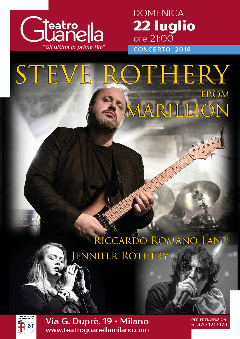 Steve Rothery, Jennifer Rothery & Riccardo Romano