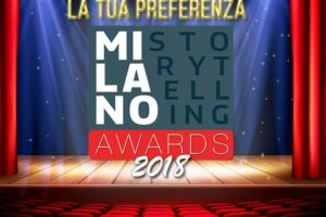 MILANO STORYTELLING AWARDS – 2018