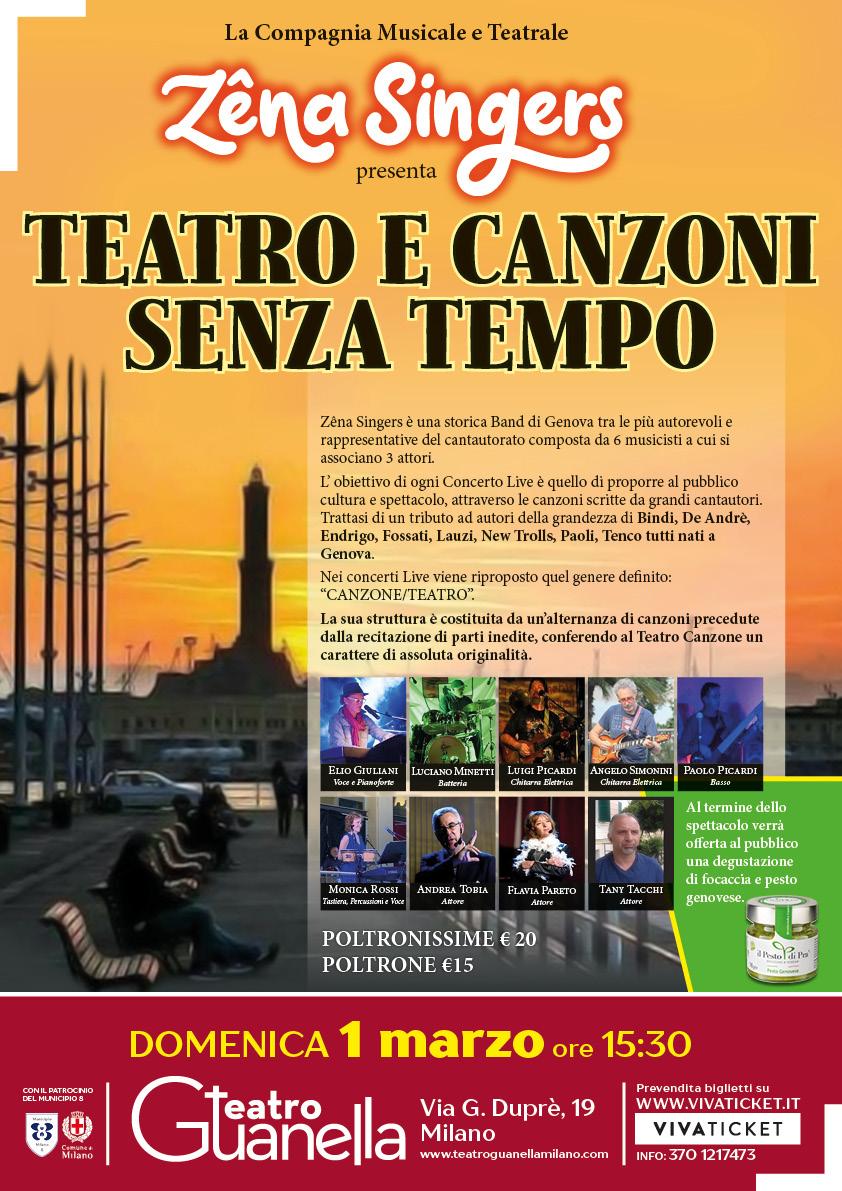 TEATRO E CANZONI SENZA TEMPO